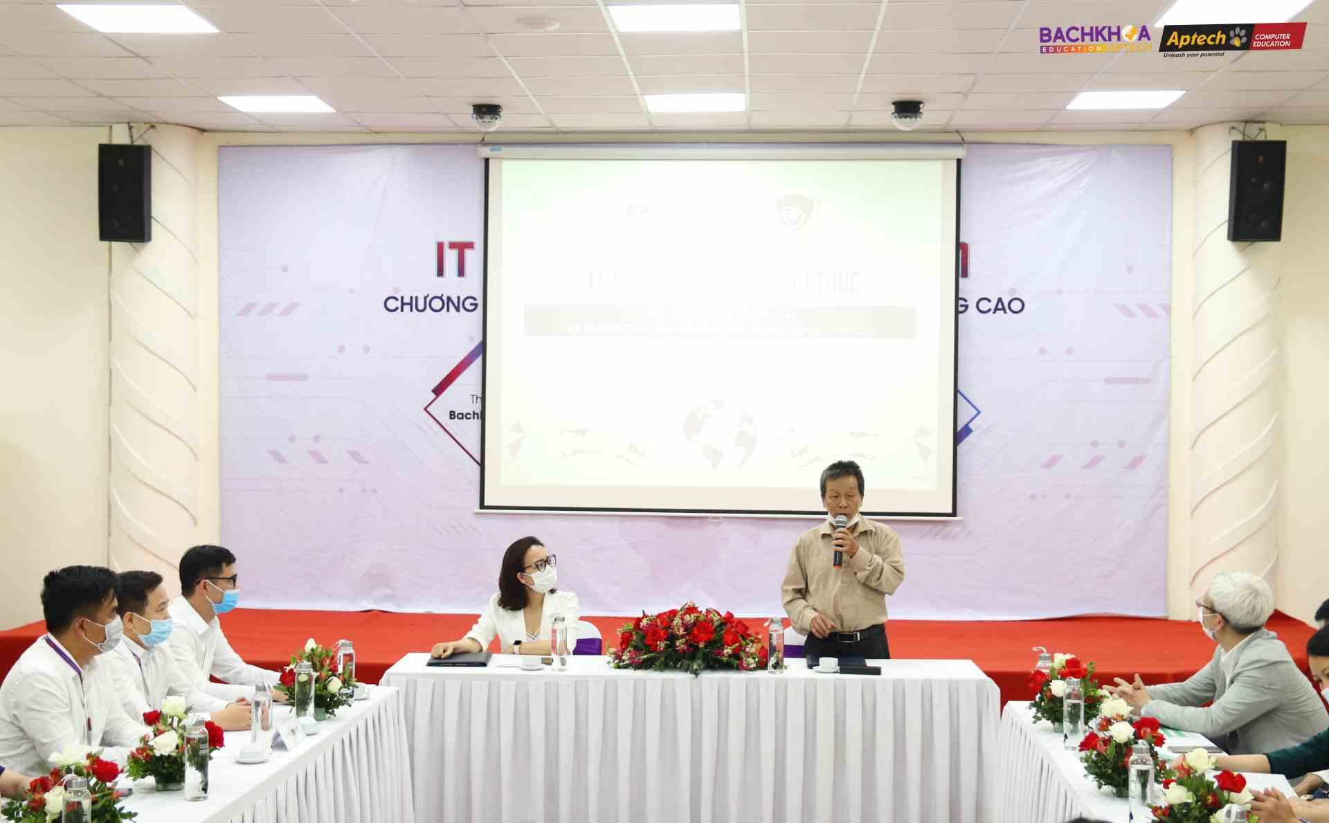 PGS.TS Nguyễn Quốc Trung - Hiệu trưởng Đại học quốc tế Bắc Hà chia sẻ