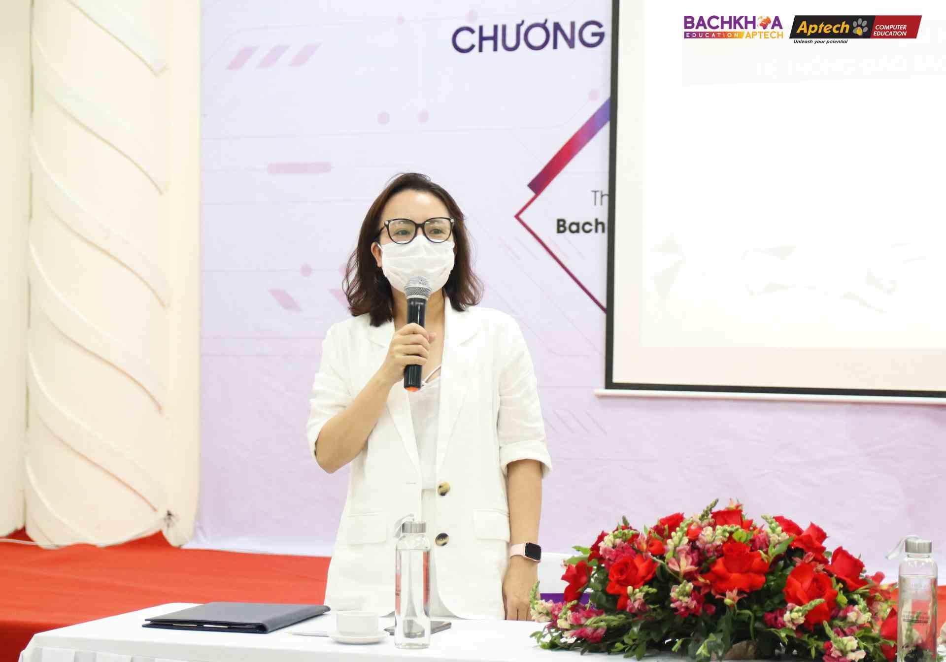 Bà Phạm Thài Hà - Chủ tịch HĐQT BKAP-GROUP chia sẻ
