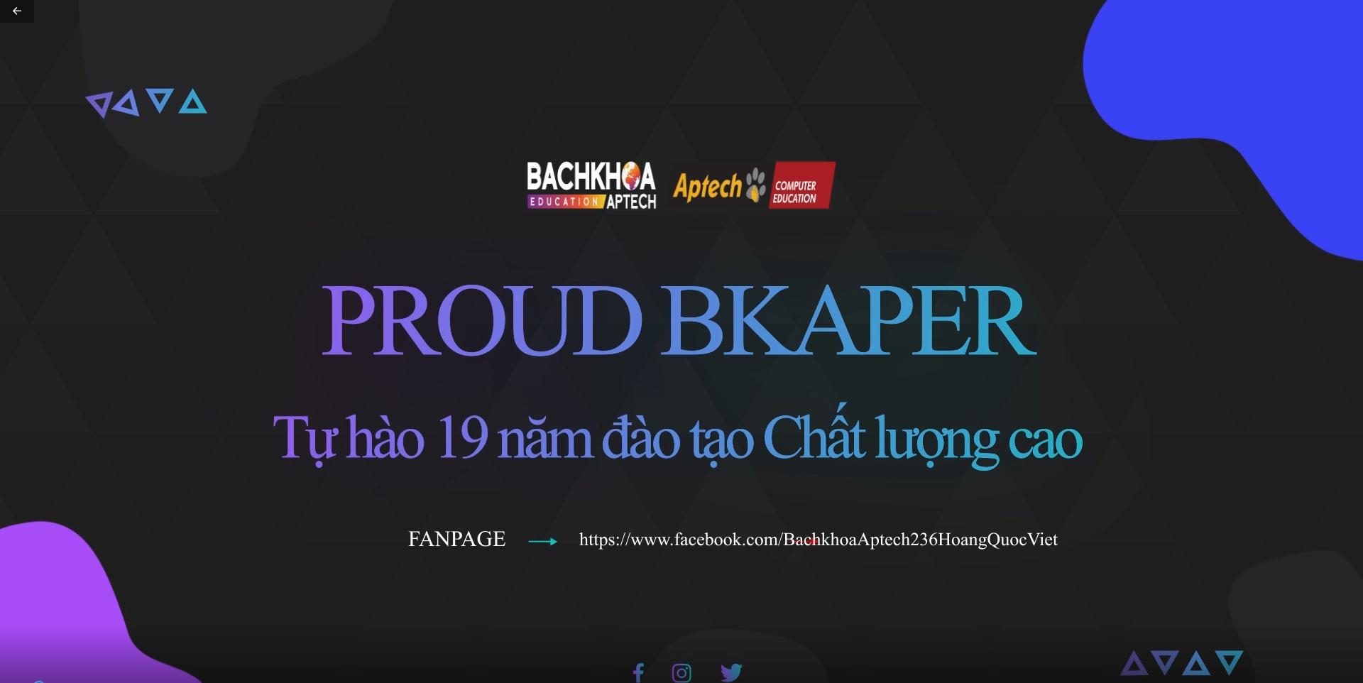 [Video] Điểm danh những gương mặt tiêu biểu của nhà Bachkhoa-Aptech