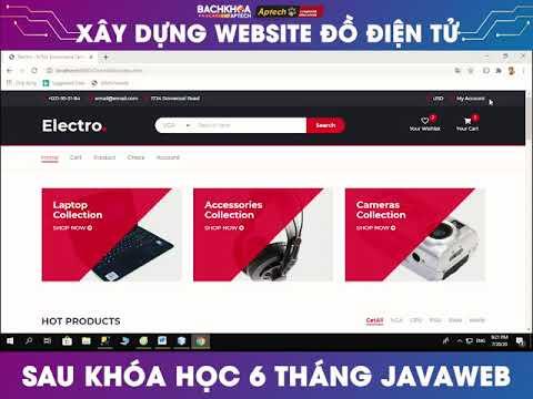 Website bán đồ điện tử