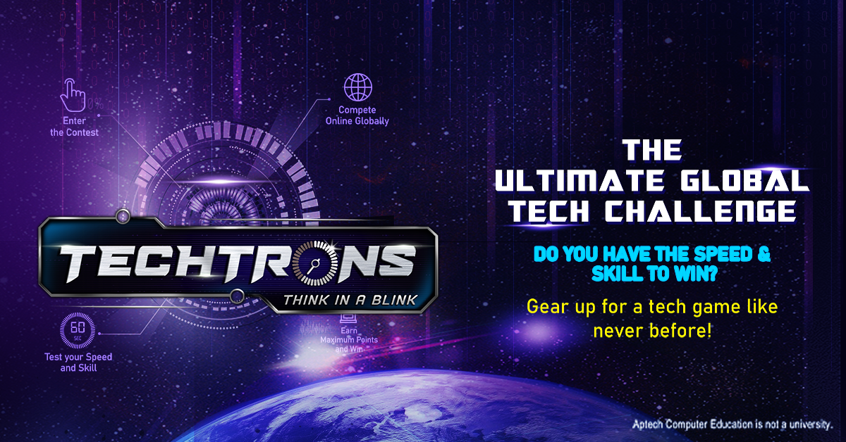 [Coming Soon] TECHTRONS - THINK IN A BLINK