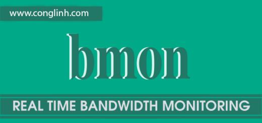 bmon – Công cụ giám sát băng thông mạng trên Linux