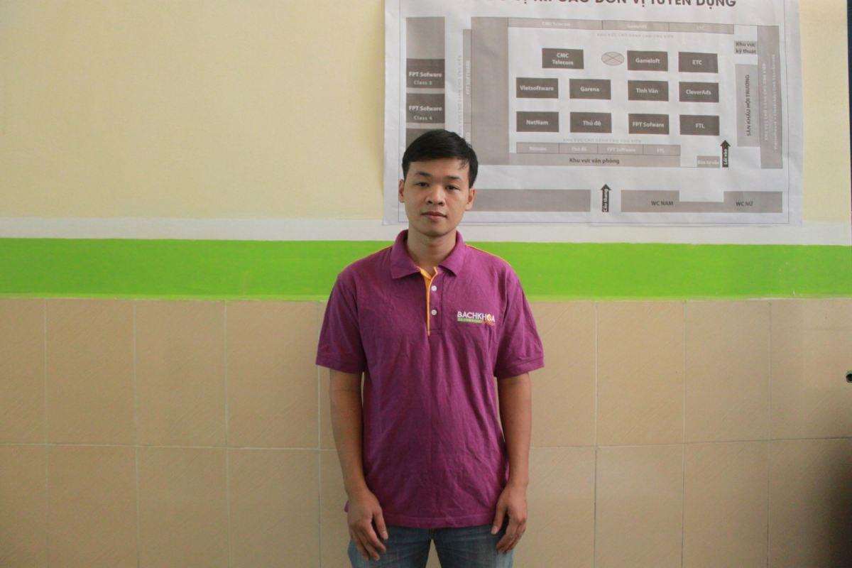 Gặp gỡ Nguyễn Văn Tiến- ứng viên xuất sắc nhất của FPT Software
