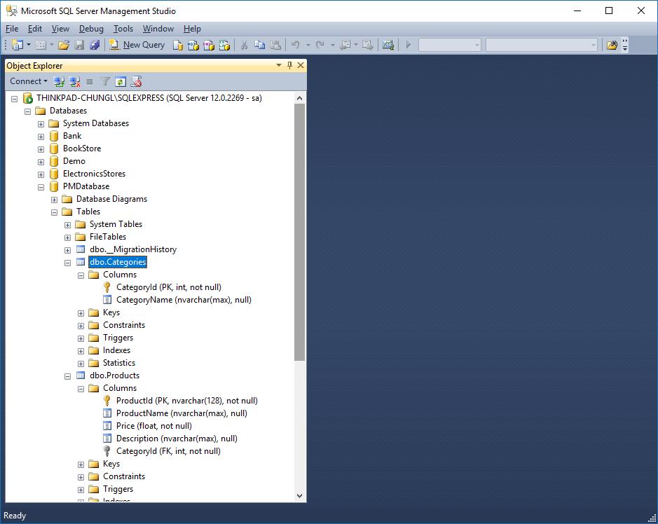 Hướng dẫn sử dụng Entity Framework Code First trong ASP.NET MVC