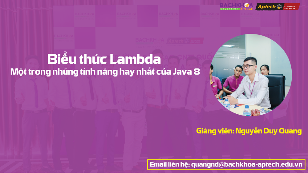Biểu thức Lambda - Một trong những tính năng hay nhất của Java 8