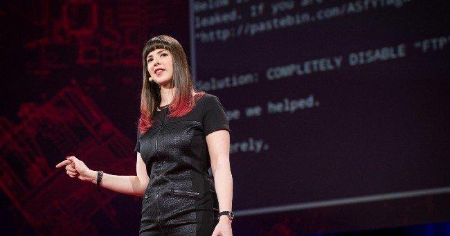Nữ hacker mũ trắng xinh đẹp và tài năng bậc nhất thế giới