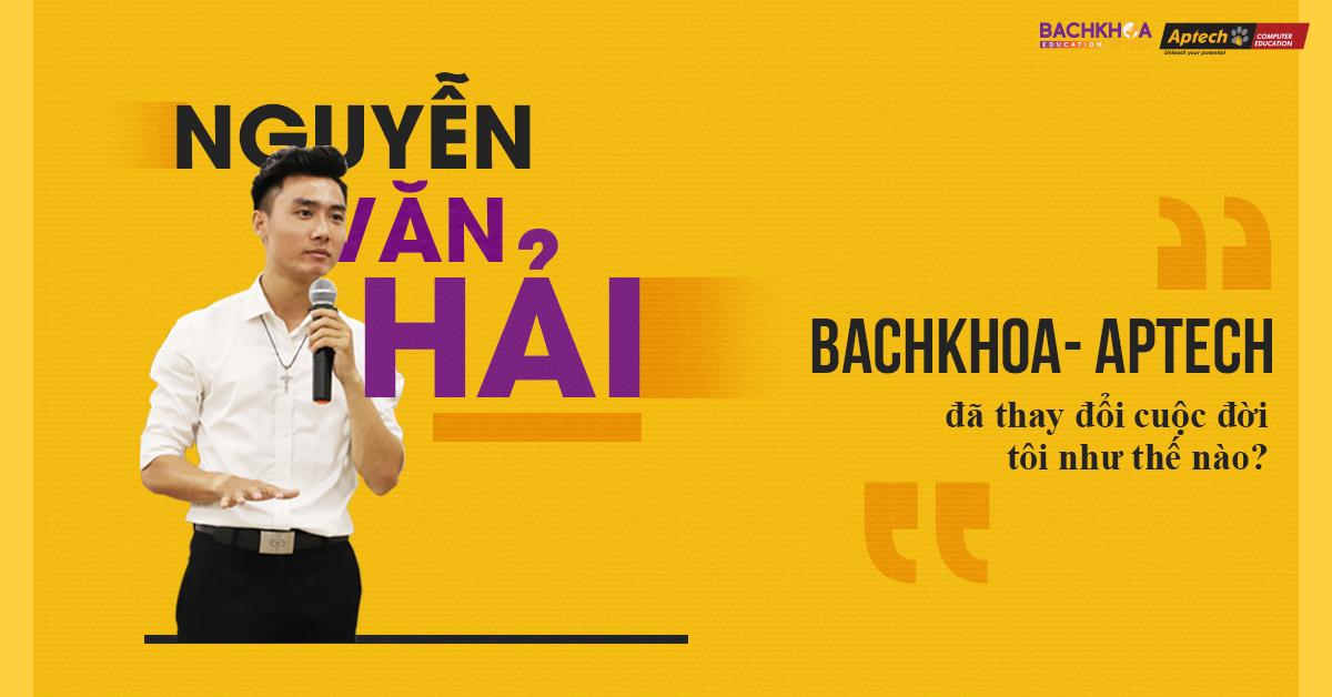 23 tuổi trở thành trưởng phòng IT, Bachkhoa- Aptech đã thay đổi cuộc đời tôi như thế nào?